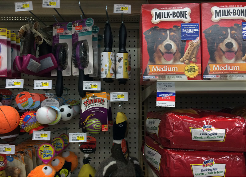 Pet Supplies department